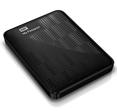 WD My Passport 1TB USB 3.0 Portable External Hard Drive (Black)